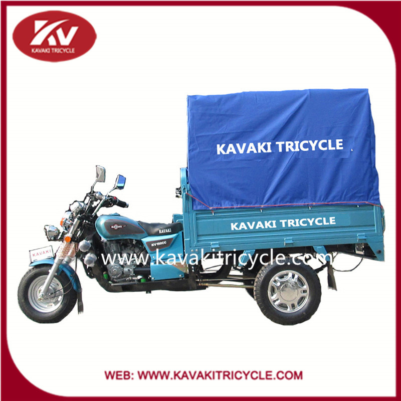 2016 China KAVAKI company good quality cheap price cargo three wheel motorcycle for adult with good quality hot sale in Africa