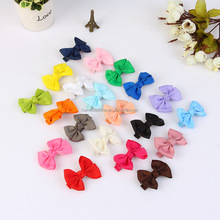 candy color children bowknot hair clip,hot sale korea ribbon bow alligator