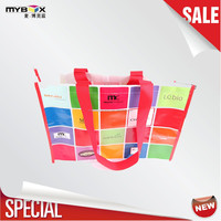 Luxury Reusable Designer Paper Shopping Bags, Fashional China Promotional Shopping Trolley Bag^