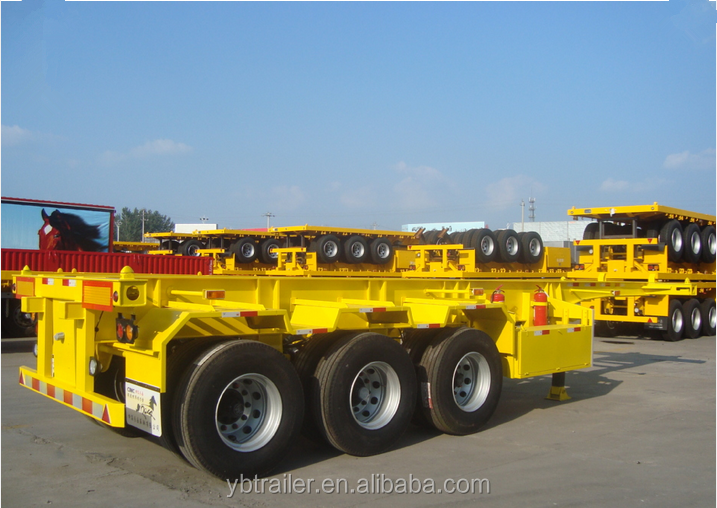 international custom 3 axles container semi truck tractor trailer