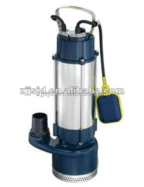 230V double sealed stainless steel body high pressure sewage pump