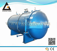 New Condition Horizontal Industrial Rubber High Temperature Pressure Autoclave Machine With CE Certification