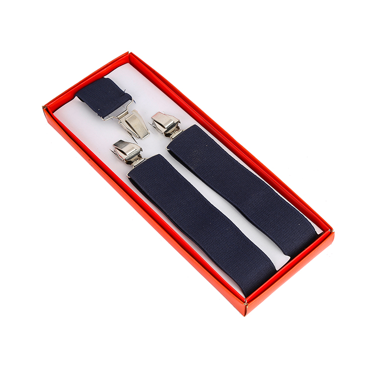 2017 New Product Fashion Polyester Belt Man Elastic Suspenders