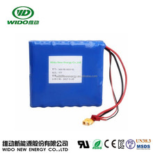 WIDO 16s1p unicycle battery 60v 2.2ah lithium ion battery for one-wheel electric vehicle airwheel