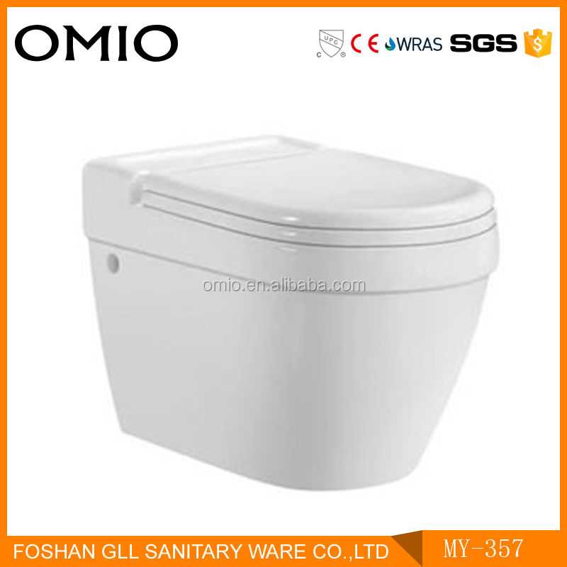 Ceramic wall hung toilet bathroom product western design water closet