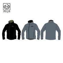 Mens windbreaker embroidered hot sale jacket in new model