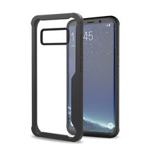 Crystal Clear Cover Case Shock Proof, Scratch Proof with Transparent Hard Plastic Back Cover For Samsung Galaxy S8 Cover Case