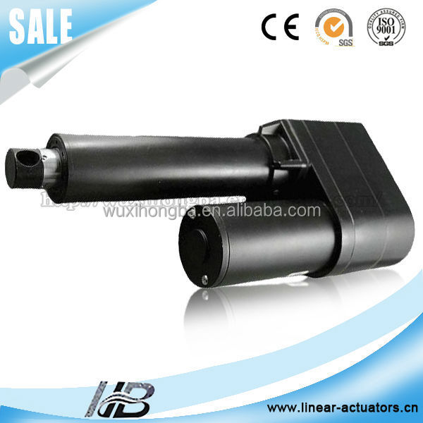 Small Actuators 12 Volt 24v Linear Actuator Gearbox For
