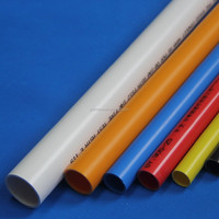 Hot Sale PVC Conduit Pipe Orange Black White Conduit PVC Pipes