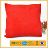 polyester french style soft velvet stuffing hot pink chair cushion