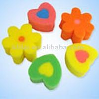 Flower Shape Bath Sponge