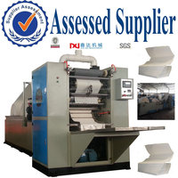 Paper Cutting and Folding Machine Processing Type Tissue Paper Product Type Embossing Hand Towel Paper Converting Machine