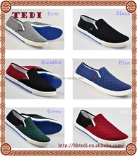 2015 cheap canvas fashion sneaker with men loafer cost effective flat sHOES