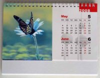 2015 Promotional 3D Table Desk Calendar for Gifts