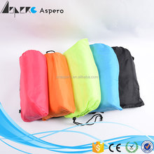 New Design waterproof sleeping bag /air filled laybag,Lazy bag inflatable with nylon material