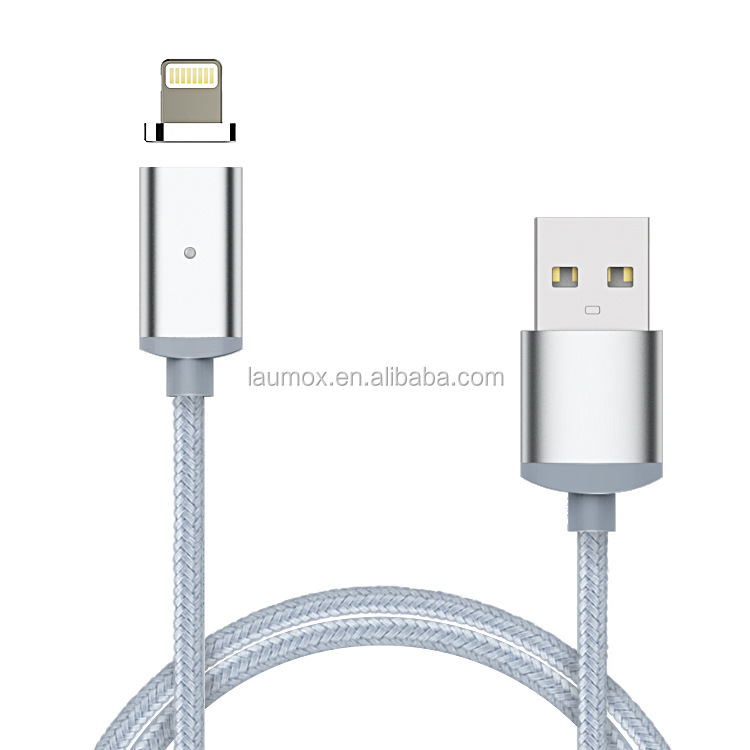 Braided Micro 2 in 1 USB Magnetic Charging Cable for mobile phone