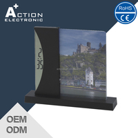 Photo Frame Insert Clock and Digital Table Time Clock