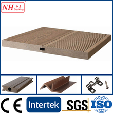 Eco friendly Outdoor Solid wpc decking