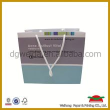 customized new design paper straw tote bag
