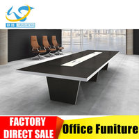 European style classic office furniture dark color office meeting table