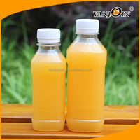 Most Popular Screen Printing Surface Handling and Plastic Material 500ml juice bottle