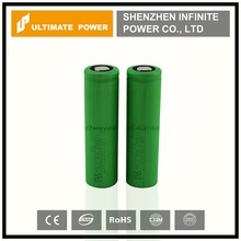 Manufacture sony us18650v3 for e-cig battery 2200mah 3.7v 10a discharge us18650v3 on sale