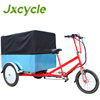 Heavy loading electric delivery tricycle