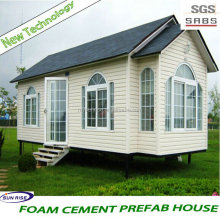 Energy Saving Fireproof prefabricated a frame homes