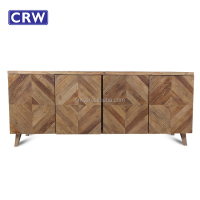 RE-1542 Vintage furniture wood cabinet