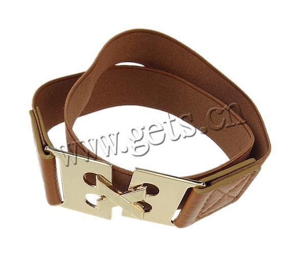 Gets.com leather 3 row pyramid studded belt black