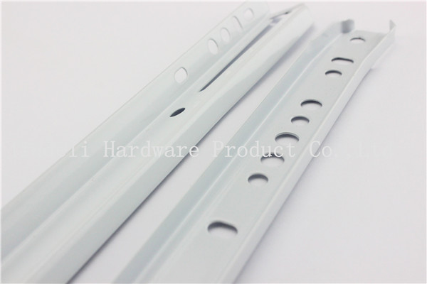wholesale stainless steel cheap price kitchen cabinet telescopic runner drawer channel ball bearing soft close drawer slides