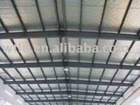ceiling/wall fiberglass fabric facing aluminum/Foil-Glass Cloth Facing