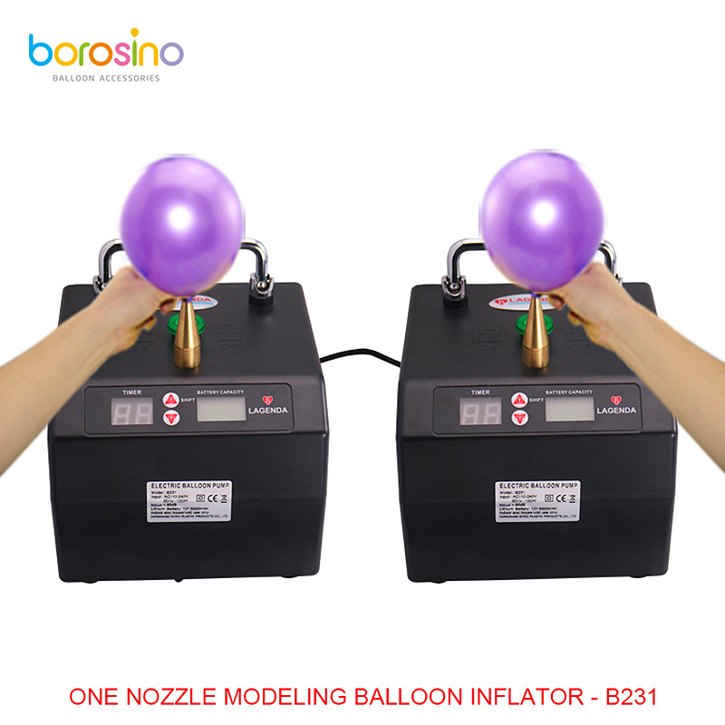 Super quiet air blower electric balloon inflator pump