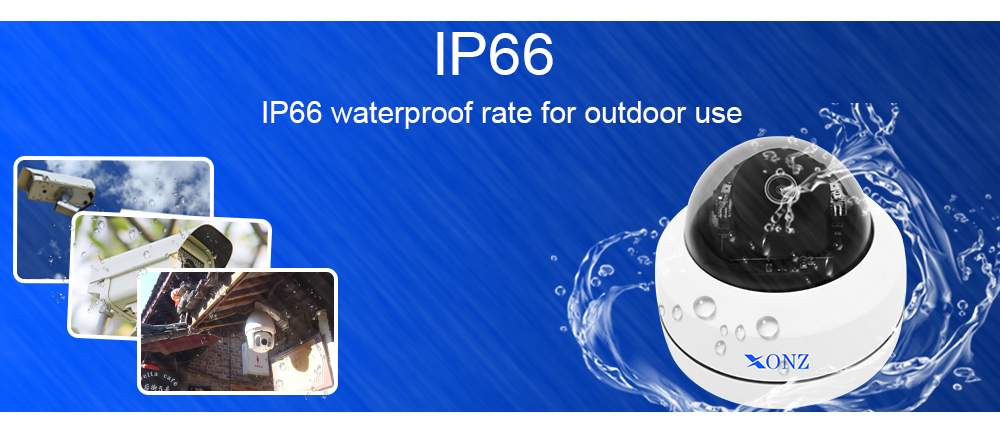 The newest high-tech mini dome style outdoor indoor Wifi IP PTZ camera
