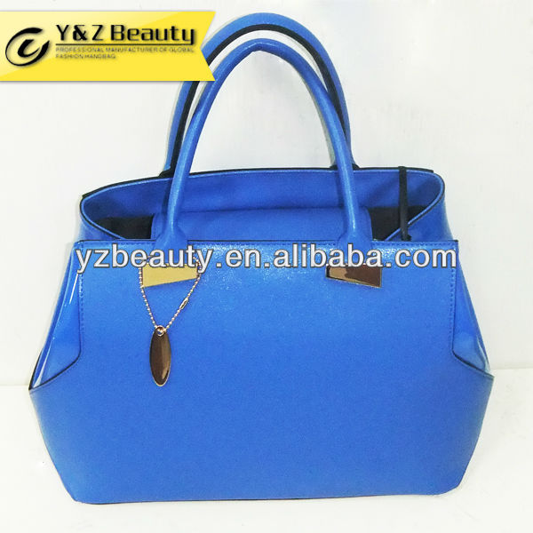Top handle hand made new fashion leather bag 2013