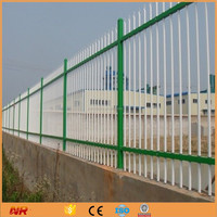 Short Wrought Iron Fencing Factory Supply