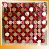 Shiny top quality sequin wall decoration for fashion shows