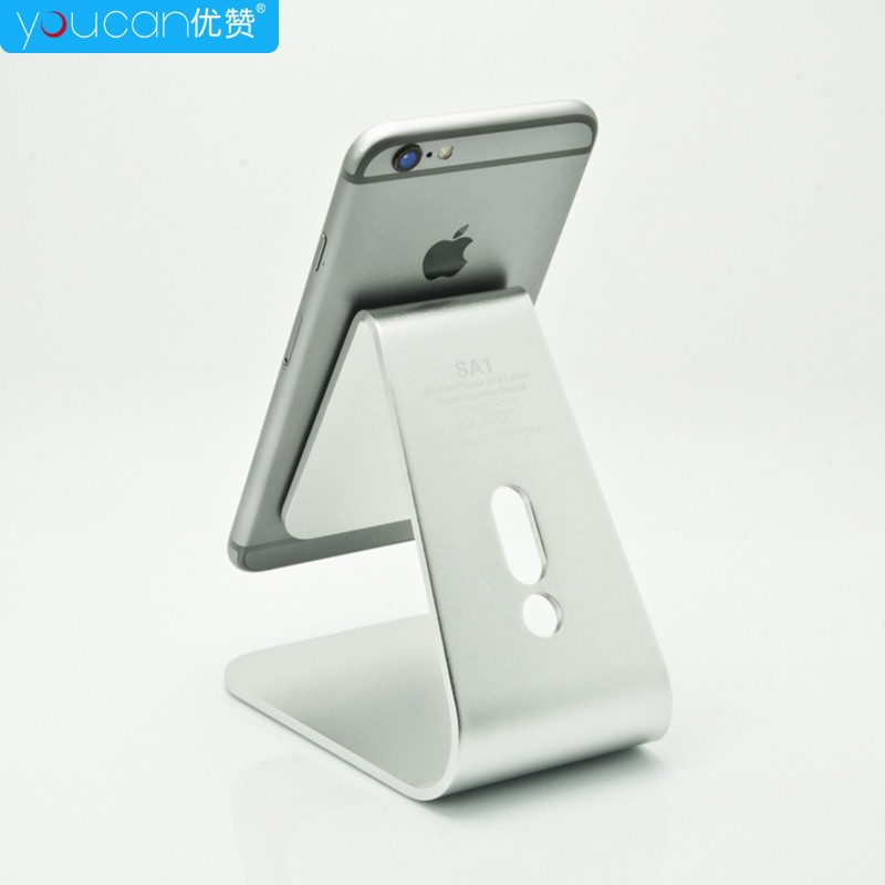universal metal desk aluminum phone tablet stand