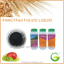Liquid fulvic acid fertilizer with trace elements