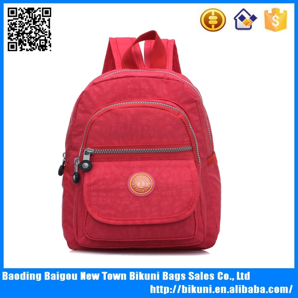 2015 Personalized kids nice nylon school backpacks