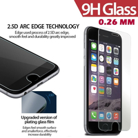 wholesale mobile phone accessory 2.5D 9H Tempered Glass Screen Protector For iPhone6 plus 5.5 Screen Protector