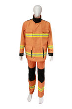 A direct manufacturer supply precision firefighter uniforms fire resistant clothing