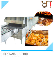 UT Food professional baking tunnel oven industrial electrical hamburger toast bread tunnel oven