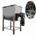 stainless steel 1000L horizontal ribbon powder mixer machine