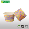 paper for cup,ice cream packaing container paper ice cream cup with paper lid