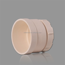 75mm plastic sewage pipe fitting pvc cleanout