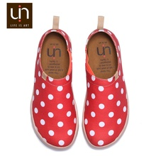 UIN Charming Polka latest girl footwear design all ladies fancy footwear