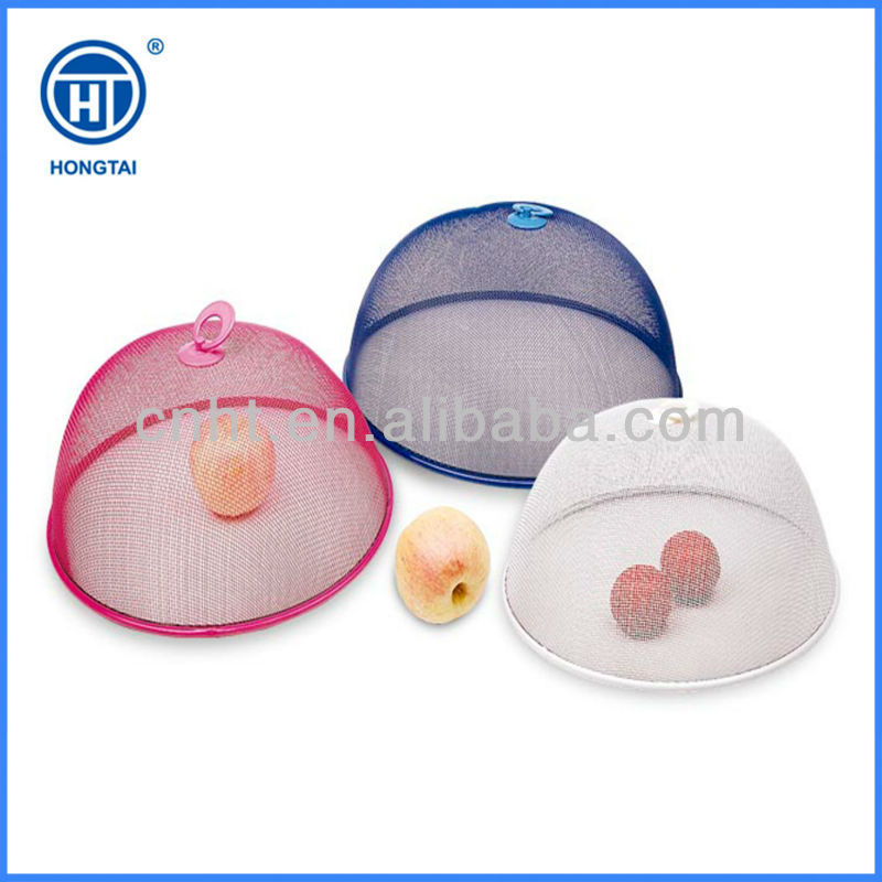 Different sizes colorful dome mesh outdoor food cover