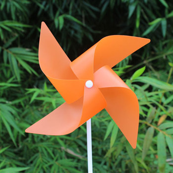 Factory Price Coloured Garden Flower Small Plastic Windmill