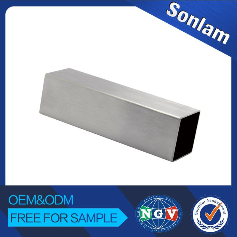 Factory Price Customize Professional Design Stainless Steel Square Tube 5Mm Thick